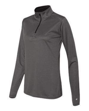 Badger Sport Layering XS / GRAPHITE Badger - B-Core Ladies Quarter-Zip