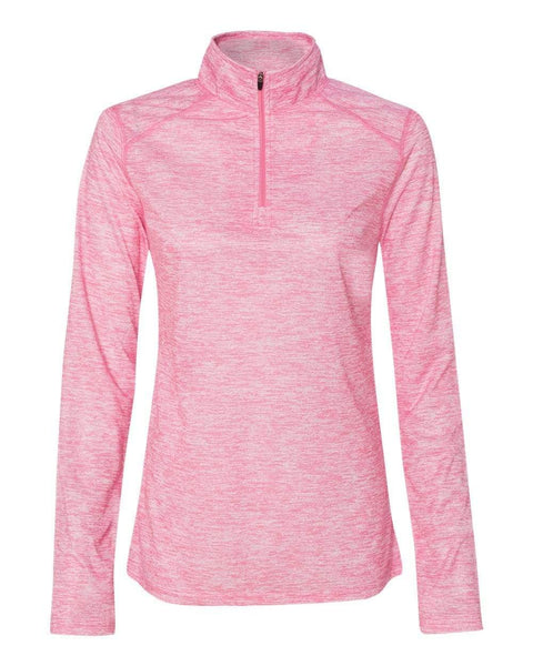 Badger Sport Layering XS / PINK Badger Women's Blend Women's Quarter-Zip Pullover