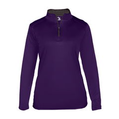Badger Sport Layering XS / PURPLE Badger - B-Core Ladies Quarter-Zip