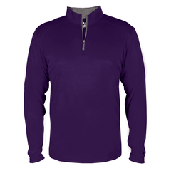 Badger Sport Layering XS / PURPLE Badger - B-Core Quarter-Zip Pullover