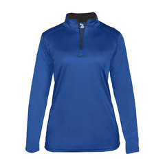 Badger Sport Layering XS / ROYAL Badger - B-Core Ladies Quarter-Zip