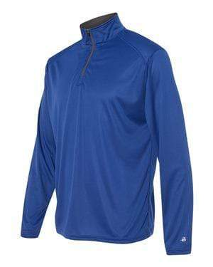 Badger Sport Layering XS / ROYAL Badger - B-Core Quarter-Zip Pullover