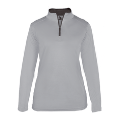 Badger Sport Layering XS / SILVER Badger - B-Core Ladies Quarter-Zip