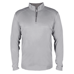 Badger Sport Layering XS / SILVER Badger - B-Core Quarter-Zip Pullover