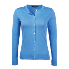 Brooks Brothers Sweaters S / BLUE Brooks Brothers Women's Supima Cotton Cardigan Sweater