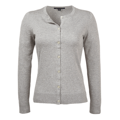 Brooks Brothers Sweaters S / GREY Brooks Brothers Women's Supima Cotton Cardigan Sweater