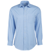 Brooks Brothers Woven Shirts 15x33 / LIGHT BLUE Brooks Brothers Men's Regent Fit Ainsley Collar Non-Iron Pinpoint Long Sleeve Dress Shirt