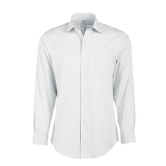 Brooks Brothers Woven Shirts 15x33 / WHITE Brooks Brothers Men's Regent Fit Ainsley Collar Non-Iron Pinpoint Long Sleeve Dress Shirt