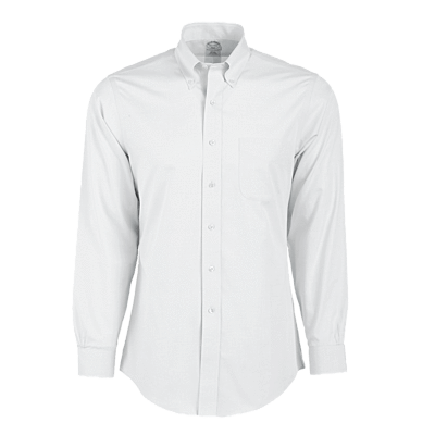 Brooks Brothers Woven Shirts 15x33 / WHITE Brooks Brothers Men's Regent Fit Non-Iron Long Sleeve Shirt