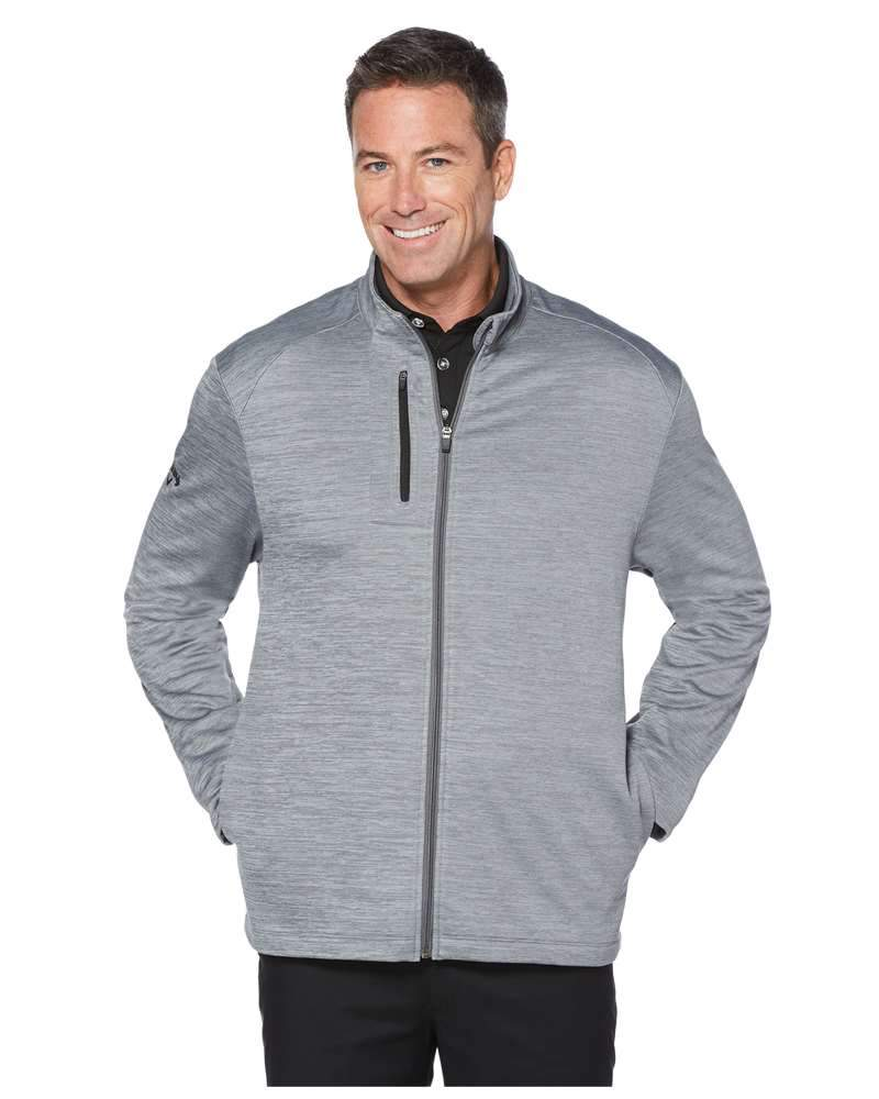 Callaway Layering S / Grey Heather Callaway - Men's STRETCH PERFORMANCE JACKET