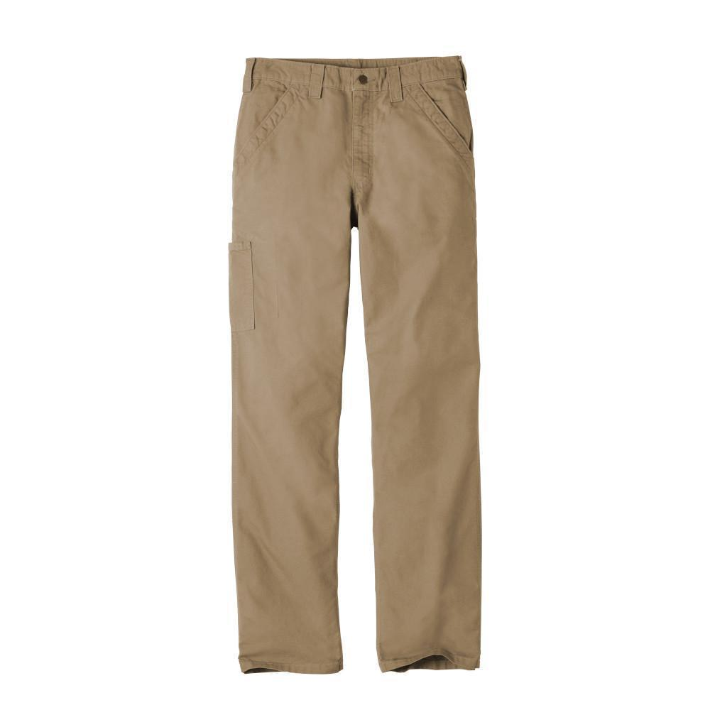 Carhartt Bottoms 30x30 / Dark Khaki Carhartt® - Canvas Work Dungaree (Dark Khaki)