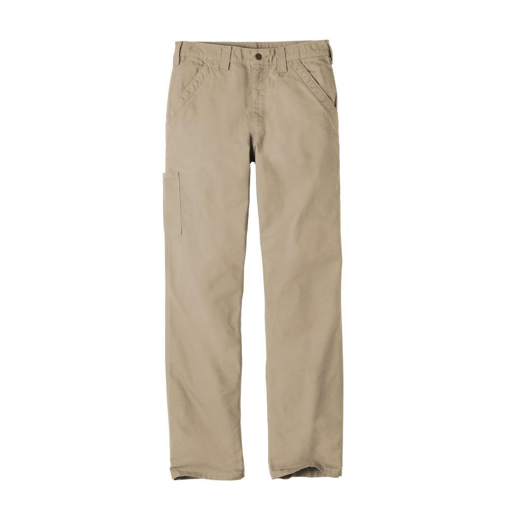 Carhartt Bottoms 30x30 / Tan Carhartt® - Canvas Work Dungaree (Tan)