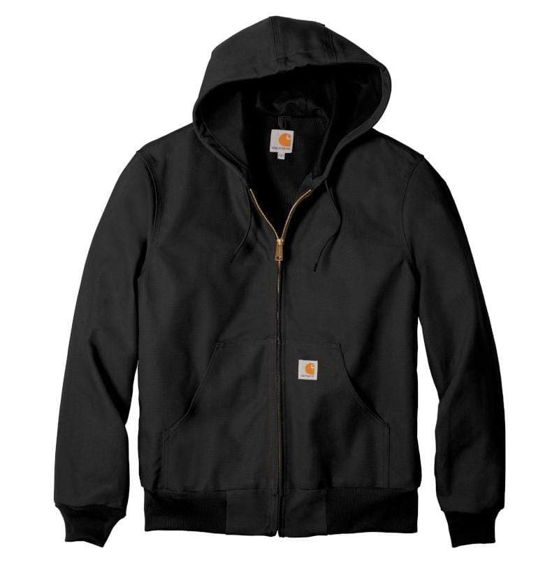 Carhartt Outerwear S / Black Carhartt® - Thermal-Lined Duck Active Jacket