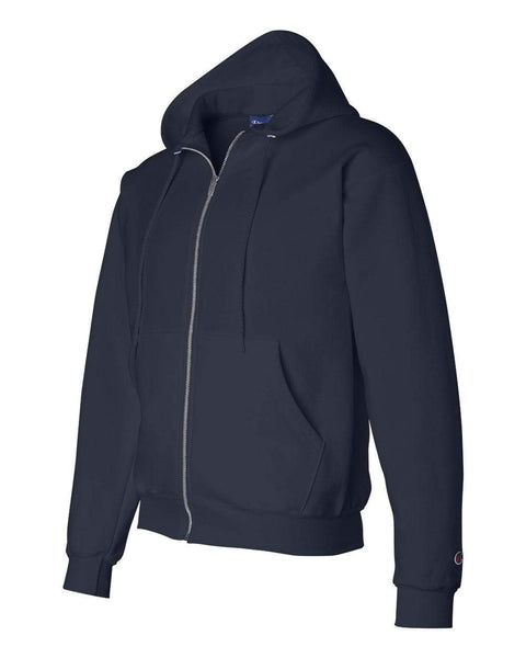 Champion Sweatshirts S / Navy Champion - Double Dry Eco® Full-Zip Hooded Sweatshirt
