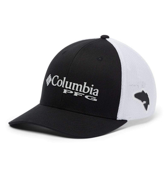 Columbia Headwear S/M / Black Columbia PFG Mesh Ball Cap