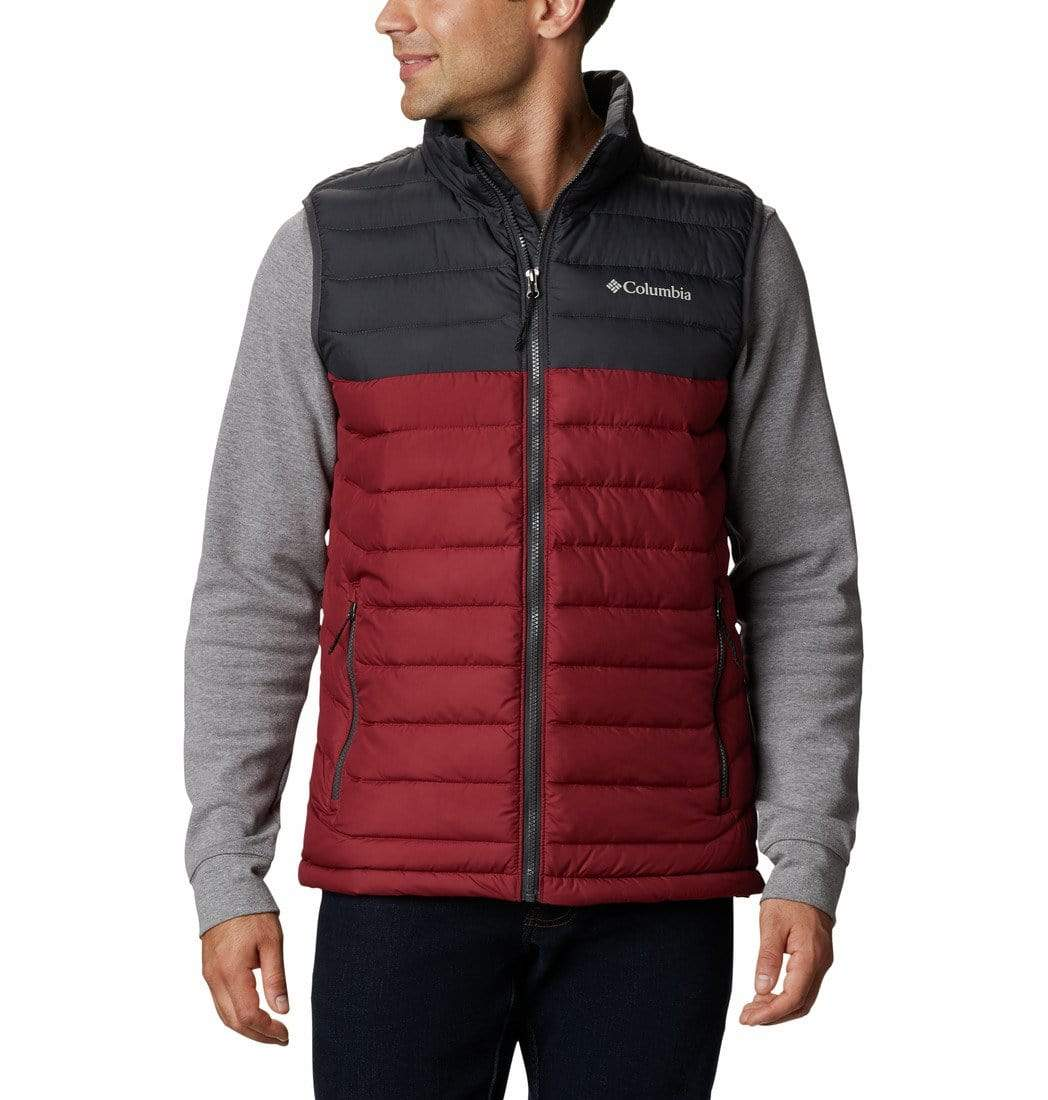 Columbia Outerwear S / Red Jasper / Shark Columbia - Powder Lite™ Vest