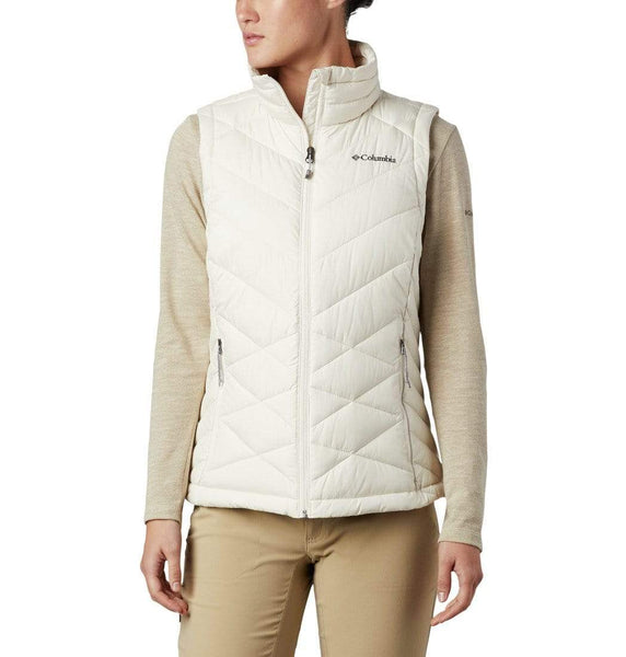 Columbia Outerwear XS / Chalk Columbia -  WOMEN'S HEAVENLY™ VEST