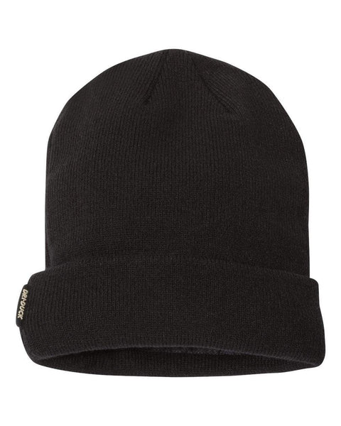 DRI DUCK Headwear ONE SIZE / BLACK DRI DUCK Basecamp Performance Knit Beanie