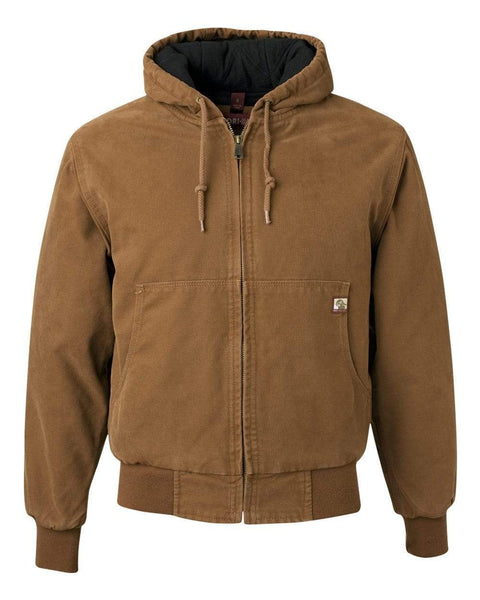 DRI DUCK Outerwear S / SADDLE DRI DUCK Men's Canvas Cheyenne Full-Zip Jacket