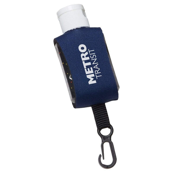 DUE TO OVERWHELMING DEMAND THIS PRODUCT WILL SHIP JULY 13th. PLACE YOUR ORDER NOW TO SECURE YOUR ORDER AND ENSURE THIS SHIP DATE Accessories Neoprene Clip 1 oz Moisture Bead Hand Sanitizer - 1oz Starting with packs of 500 units