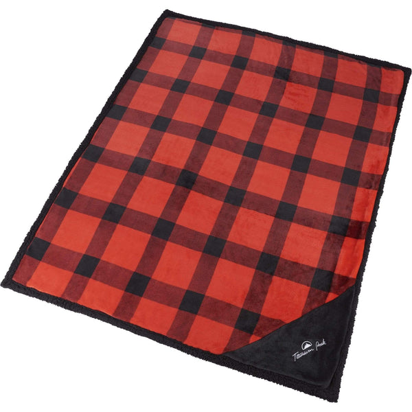 Field & Co Accessories One Size / Red Field & Co. - Buffalo Plaid Blanket