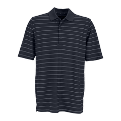 Greg Norman Polos S / Black / White Greg Norman - Play Dry® Performance Striped Mesh Polo