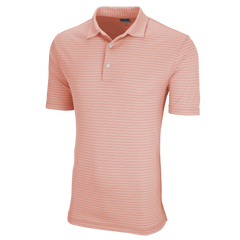 Greg Norman Polos S / Peach Greg Norman Protek Micro Stripe Polo