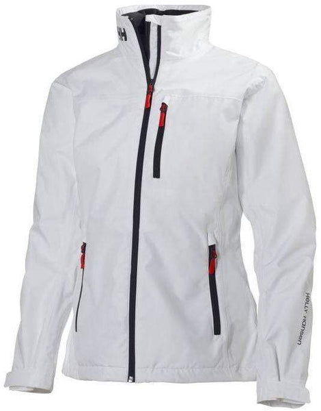 Helly Hansen Outerwear S / Bright White Helly Hansen - Womens CREW MIDLAYER JACKET