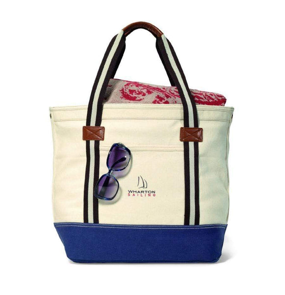 Heritage Bags Navy Heritage Supply™ Catalina Cotton Tote