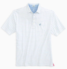 johnnie-O Polos S / Gulf Blue johnnie-O - The Original 4-Button Polo (Neese Stripe)