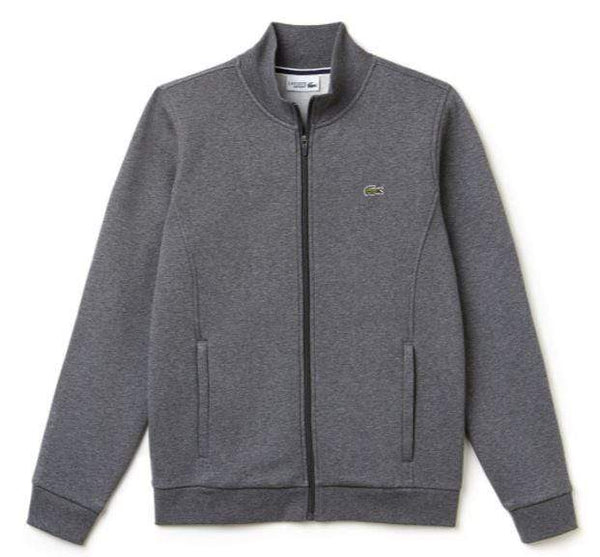 Lacoste Layering S / Pitch Grey Lacoste - MEN'S SPORT ZIP-UP SWEATSHIRT