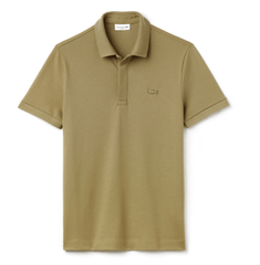 Lacoste Polos S / Aloe Lacoste MEN'S PARIS EDITION REGULAR FIT STRETCH PIQUÉ POLO