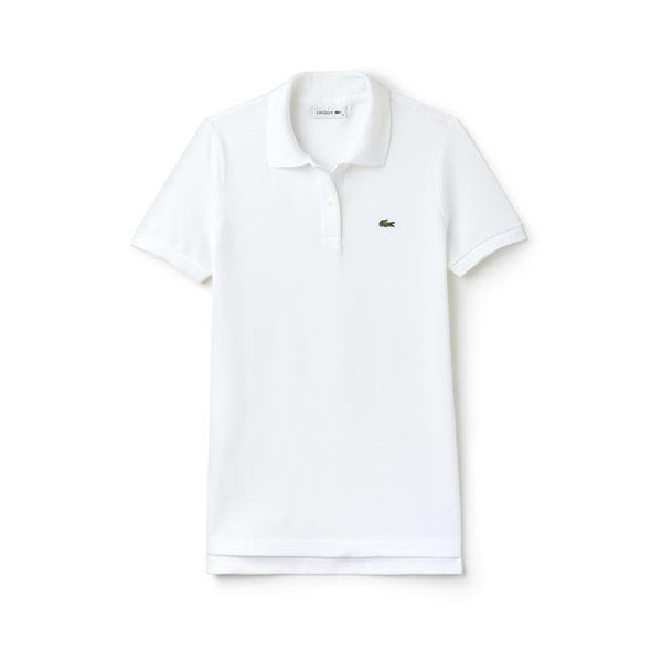 Lacoste Polos XXS / WHITE Lacoste Women's Classic Fit Soft Cotton Petit Pique Polo