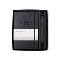Moleskine - 25 piece minimum Accessories 25 piece minimum / Black Moleskine - medium Hard cover Notebook and GO Pen Gift Set