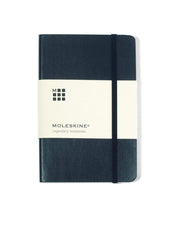 Moleskine - 25 piece minimum Accessories 25 piece minimum / BLACK Moleskine® Soft Cover Ruled Pocket Notebook (3.5