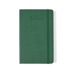 Moleskine - 25 piece minimum Accessories 25 piece minimum / GREEN Moleskine® Hard Cover Ruled Large Notebook (5
