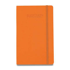 Moleskine - 25 piece minimum Accessories 25 piece minimum / ORANGE Moleskine® Hard Cover Ruled Large Notebook (5
