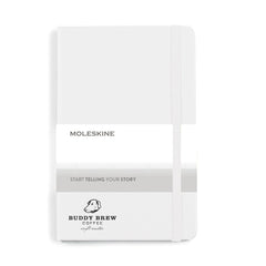 Moleskine - 25 piece minimum Accessories Moleskine - medium Hard cover Notebook and GO Pen Gift Set