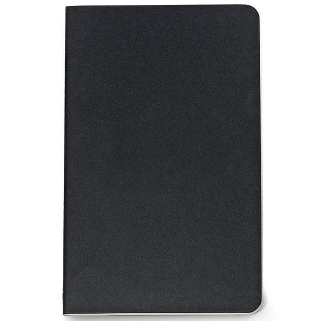 "Moleskine - 50 piece minimum Accessories One Size / BLACK Moleskine® Cahier Ruled Large Notebook (5"" x  8.25"")"