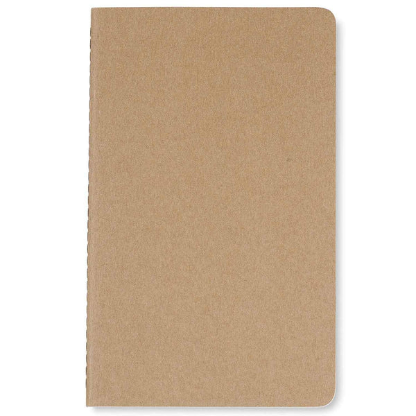 "Moleskine - 50 piece minimum Accessories OSFA / NATURAL Moleskine® Cahier Plain Large Notebook (5"" x 8.25"")"