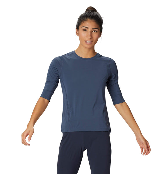 Mountain Hardwear T-shirts XS / Zinc Mountain Hardwear - Women's Crater Lake™ 3/4 Crew
