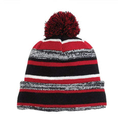 New Era Headwear One size / Black / Scarlet New Era - Sideline Beanie