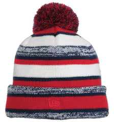 New Era Headwear One size / Red / Navy New Era - Sideline Beanie