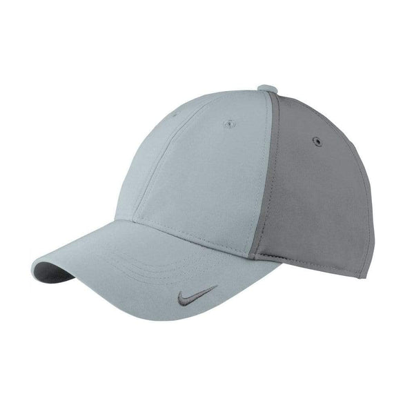 Nike Headwear ONE SIZE / COOL GREY/DARK GREY Nike Golf Swoosh Legacy 91 Cap
