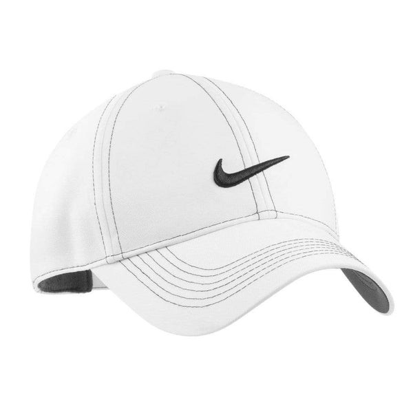 Nike Headwear ONE SIZE / WHITE Nike Golf Swoosh Front Cap