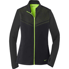 Nike Layering S / BLACK/CHARTREUSE Nike Golf Ladies Therma-FIT Hypervis Full-Zip Jacket