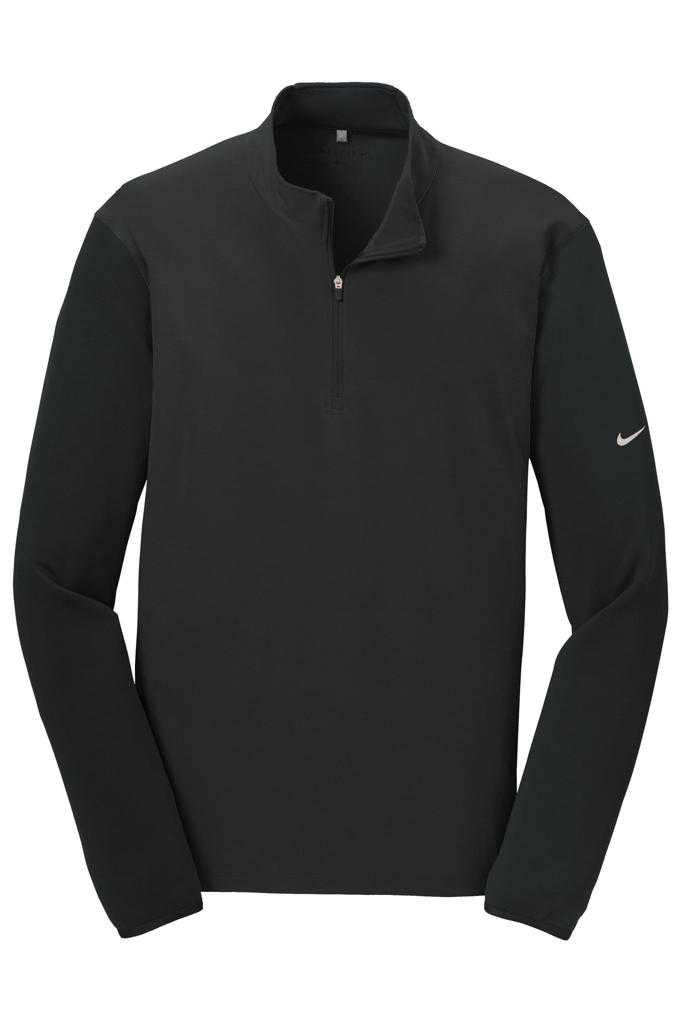 Nike Layering XS / BLACK/BLACK Nike Men's Golf Dri-FIT Fabric Mix 1/2-Zip Cover-Up