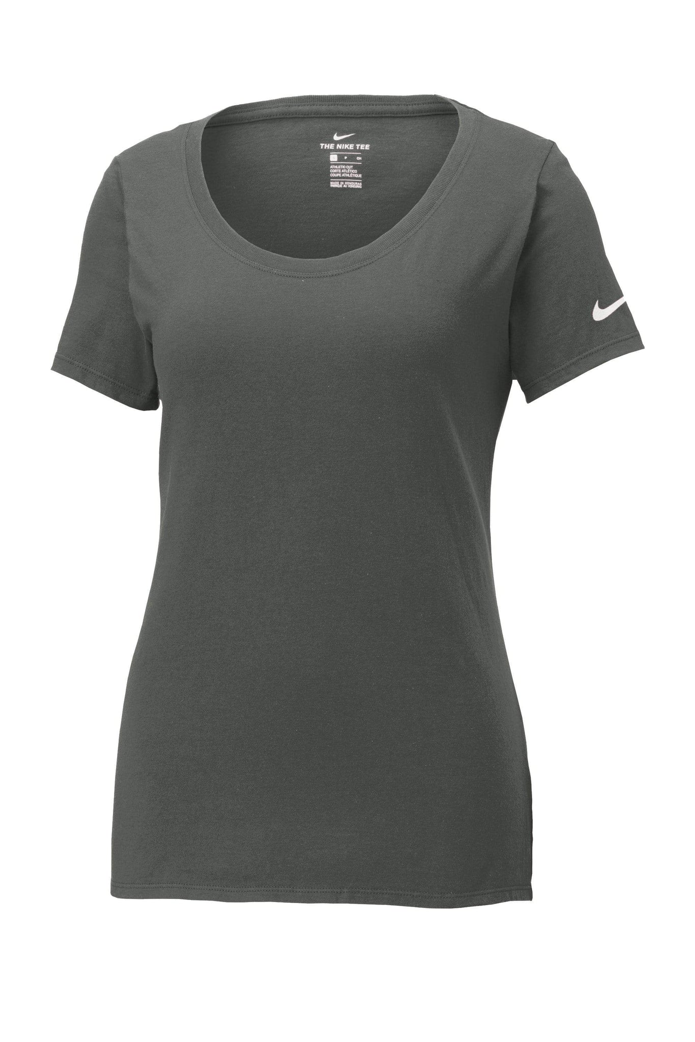 Nike T-shirts S / Anthracite Nike - Ladies Core Cotton Scoop Neck Tee