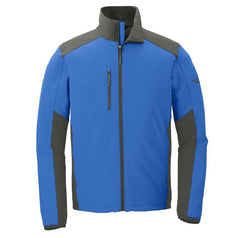 North Face Outerwear S / Blue / Grey The North Face® - Men's Tech Stretch Soft Shell Jacket
