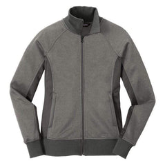 North Face Outerwear S / Grey Heather The North Face® - Women's Tech Full-Zip Fleece Jacket